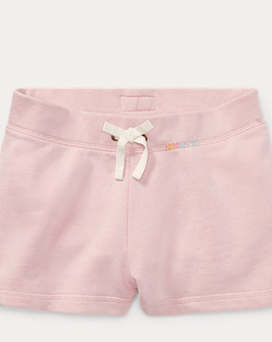Embroidered French Terry Short