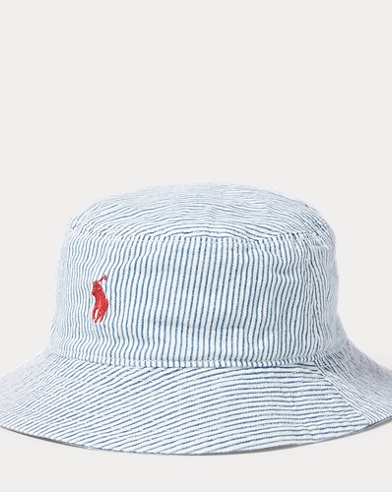 5cd4b5b8b4f Reversible Cotton Bucket Hat