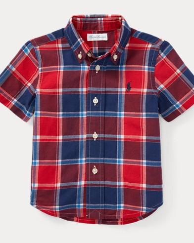 Cotton Madras Sport Shirt