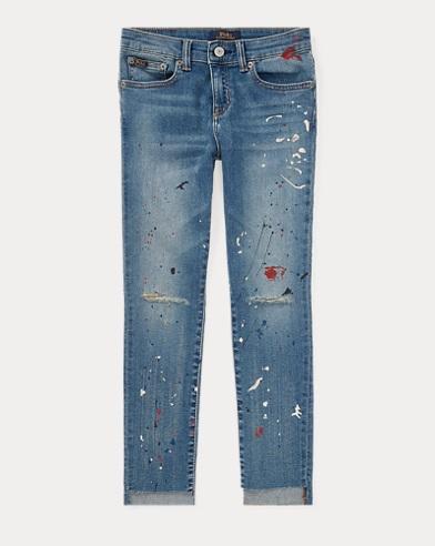 Tompkins Paint-Splatter Jean