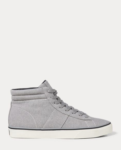 Shaw Chambray High-Top Sneaker