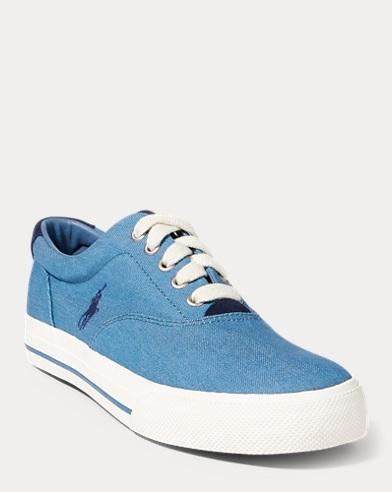 Vaughn Denim Low-Top Sneaker