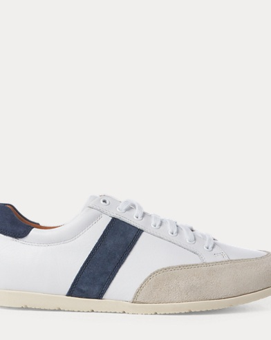 Price Leather Low-Top Sneaker