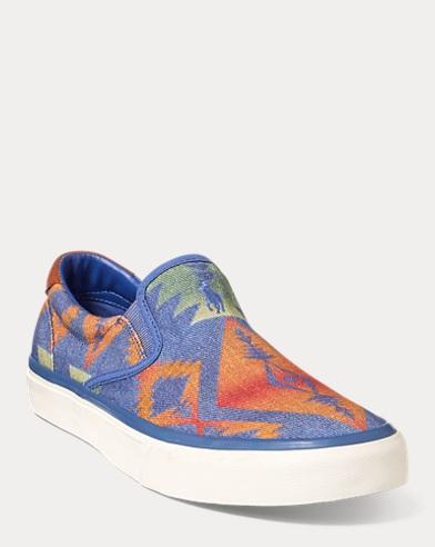 Thompson Print Twill Sneaker