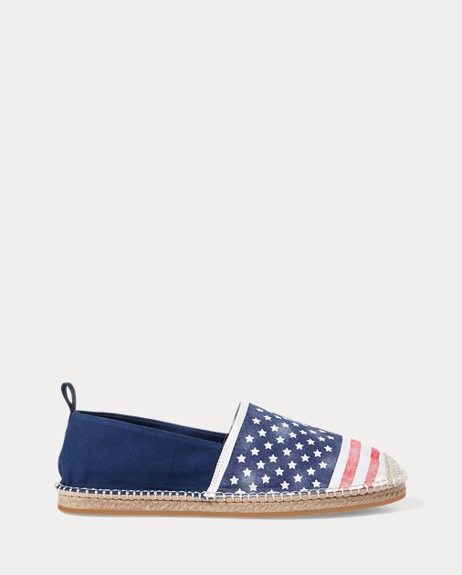 Barron Flag Canvas Espadrille by Ralph Lauren