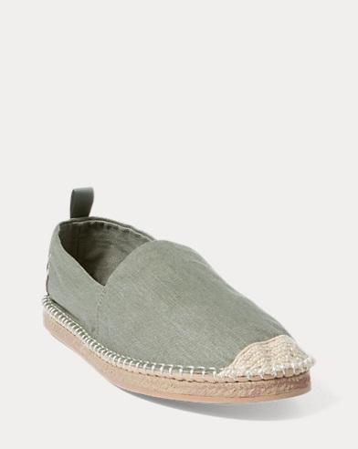 Ralph Lauren Men's Barron Washed Twill Espadrilles Men's Shoes CB0O1SmvO