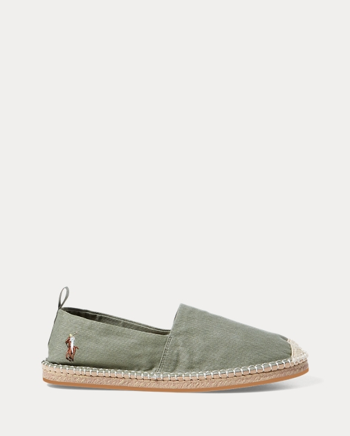 Barron Washed Twill Espadrille by Ralph Lauren