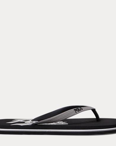 color (2); Black; Newport Navy. Polo Ralph Lauren. Whitlebury Thong Sandal.  $30.00