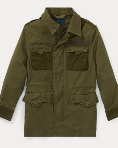 Cotton Canvas Field Jacket