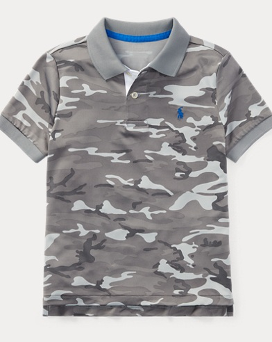 Camo Performance Lisle Polo