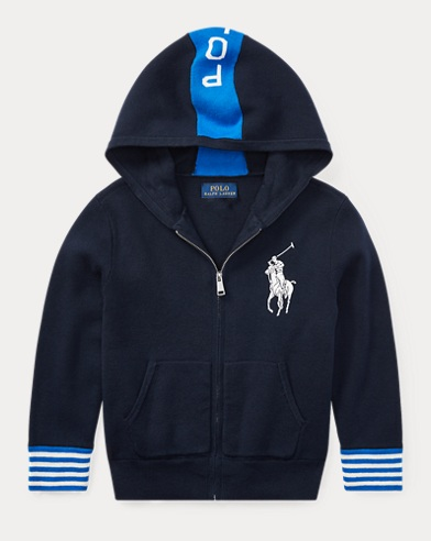 Big Pony Cotton Hoodie