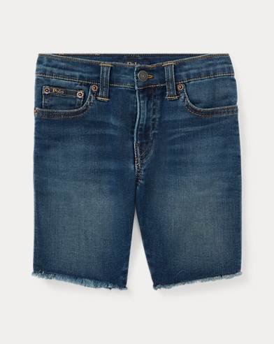 Knit Stretch Denim Short
