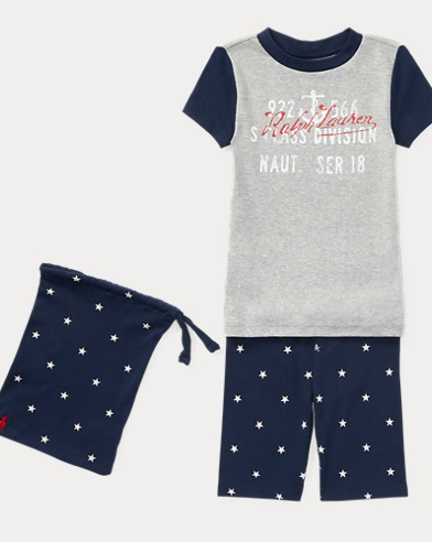 Star Cotton Sleep Short Set