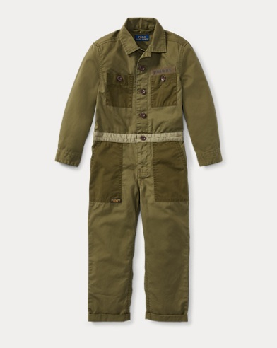 Cotton Twill Utility Coverall