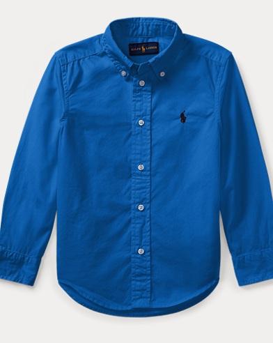 Cotton Poplin Sport Shirt
