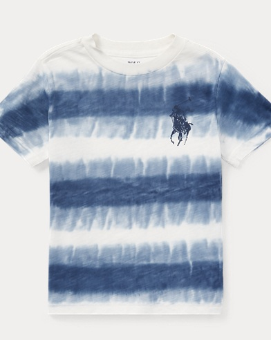Tie-Dye Cotton Jersey T-Shirt