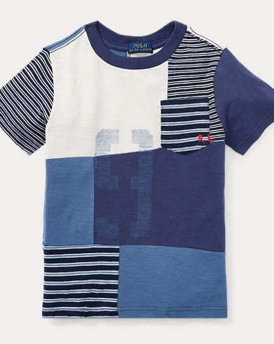 Patchwork Cotton T-Shirt