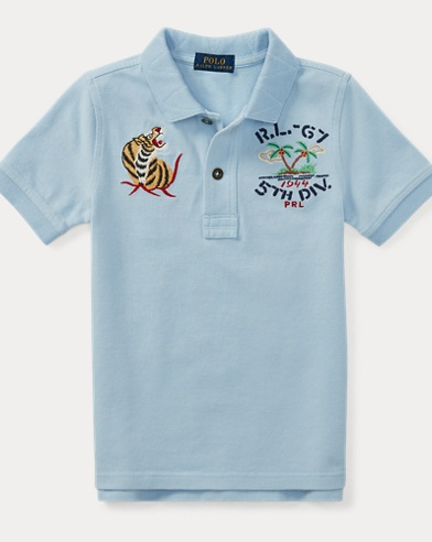 Souvenir Cotton Mesh Polo