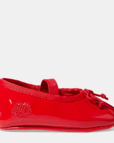 Allie Faux-Leather Ballet Flat