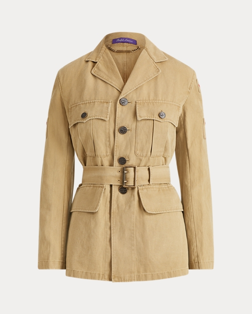 Afton Twill Safari Jacket by Ralph Lauren