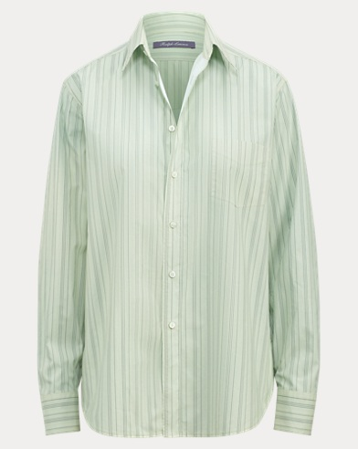Nelson Striped Cotton Shirt