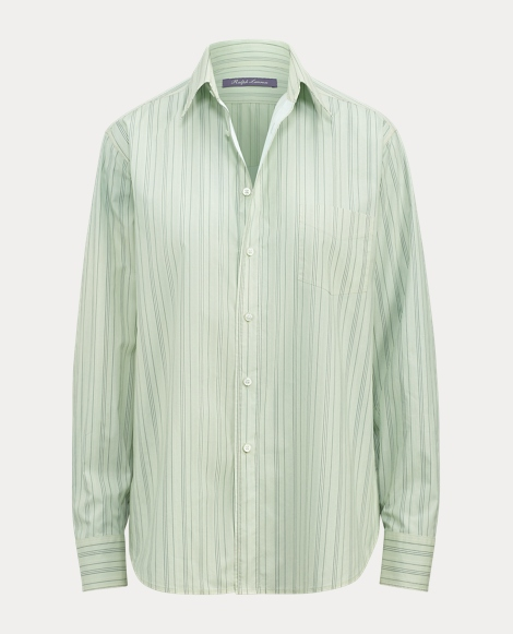 Nelson Striped Cotton Shirt