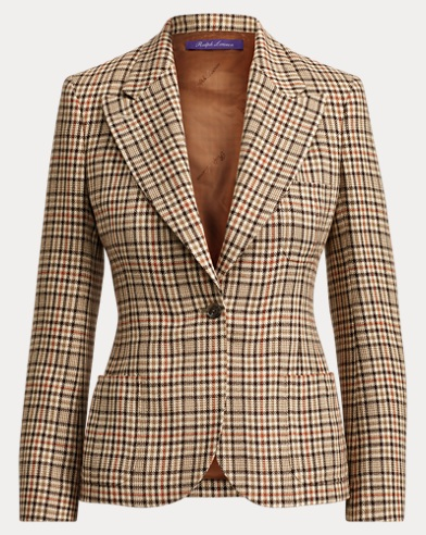 Fillmore Checked Jacket