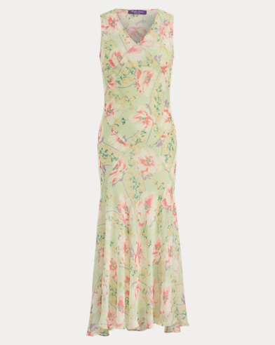 Patricia Floral Chiffon Dress