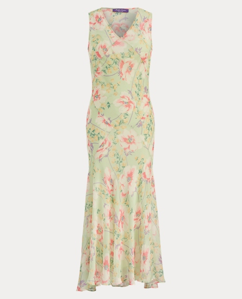 Patricia Floral Chiffon Dress
