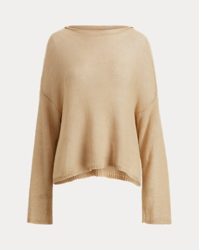 Linen Rollneck Sweater