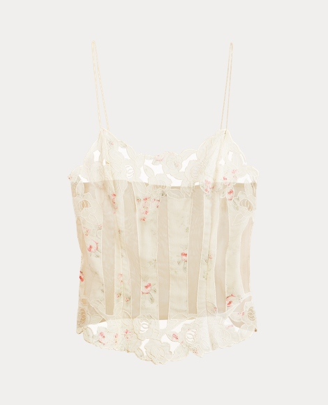 Paulina Embroidered Camisole