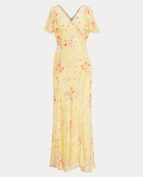 Alexandria Silk Floral Dress