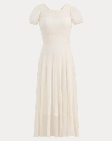 Lilliana Cotton Tulle Dress