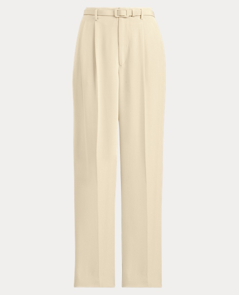 Kenley Crepe Wide-Leg Pant