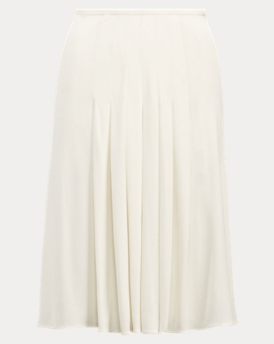 Tabatha Pleated Jersey Skirt