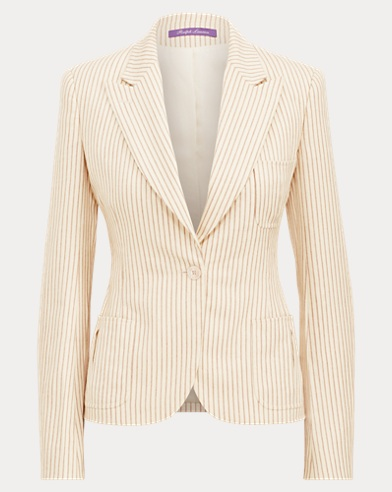 Gilmore Ticking-Stripe Jacket