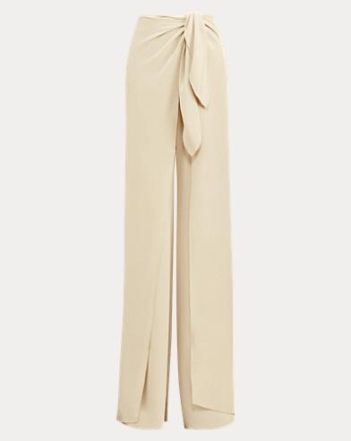 Adelaide Silk Crepe Pant