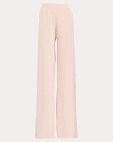 Frieda Silk Wide-Leg Pant