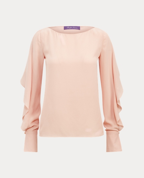 Boswell Silk Crepe Blouse