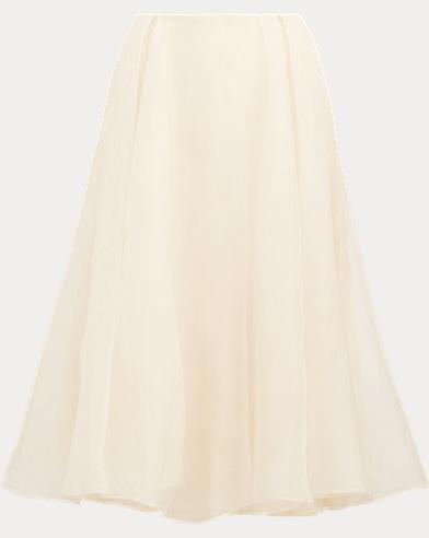 Isabella Layered Silk Skirt