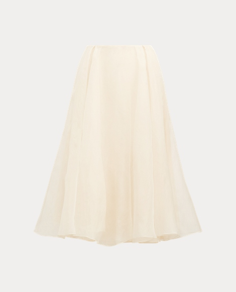Isabella Layered Silk Skirt