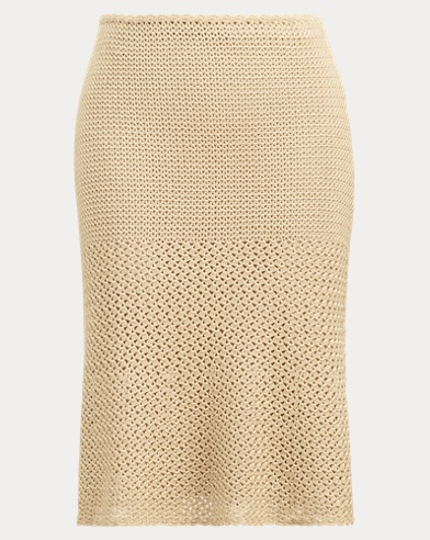 Crocheted Silk Skirt