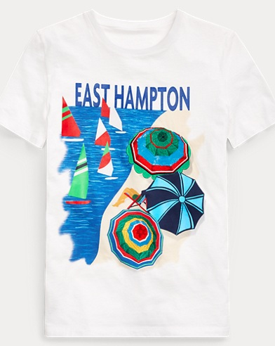 East Hampton Graphic T-Shirt