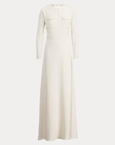 Clifton Silk Cady Gown