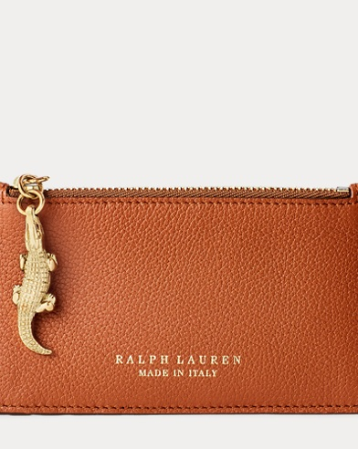 Calfskin Mini Zip Pouch