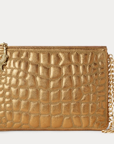 Quilted Nappa Leather Pouch