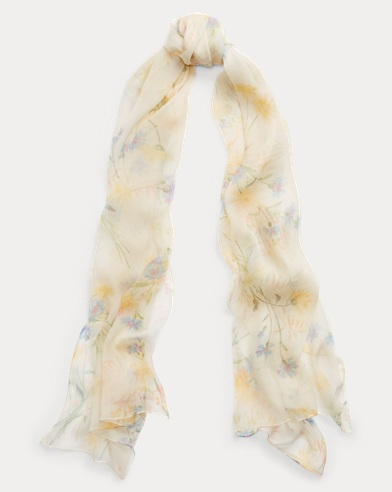 Wildflower Silk Scarf