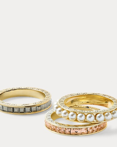 Three-Piece Ring Set