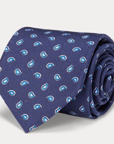 Silk Twill Narrow Tie