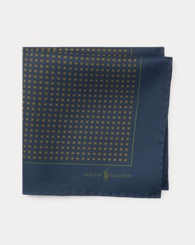Neat Silk Twill Pocket Square